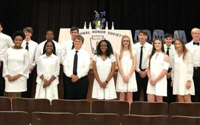 NHS Congratulates New National Honor Society Inductees