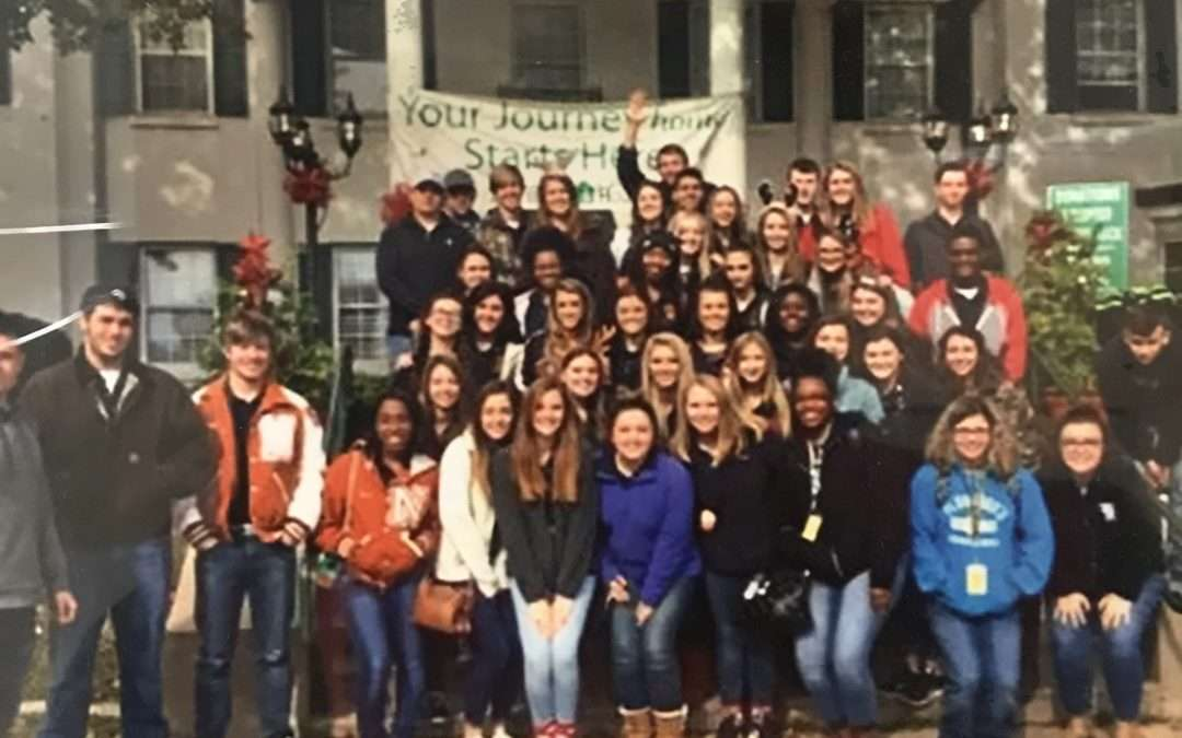 National Honor Society and Falcons Give Back