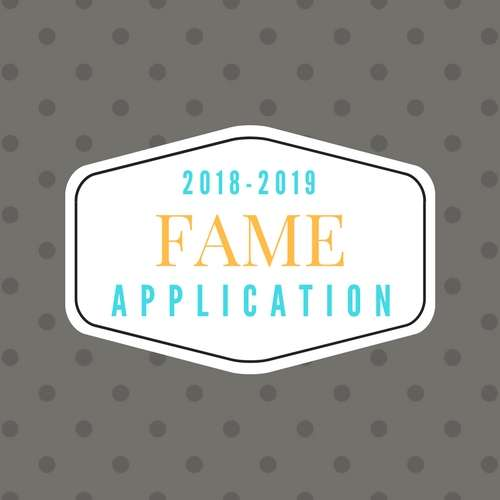 Be A Part of FAME!
