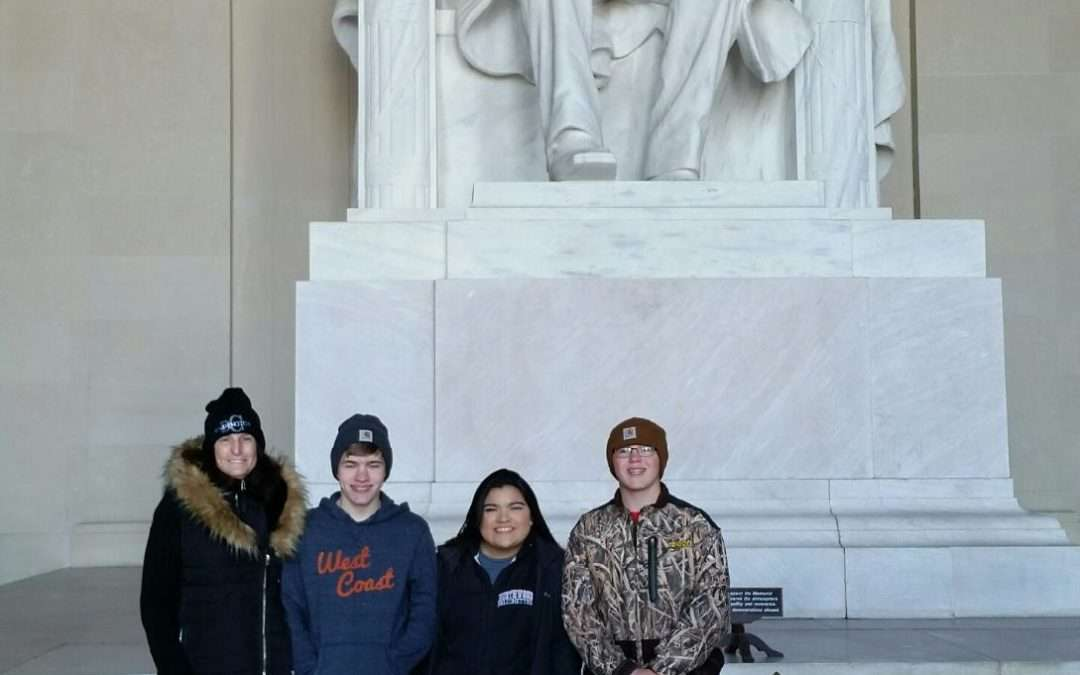 Northwood's Teen Leadership Team Visits DC
