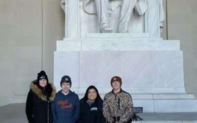 Northwood's Teen Leadership Team Visits DC