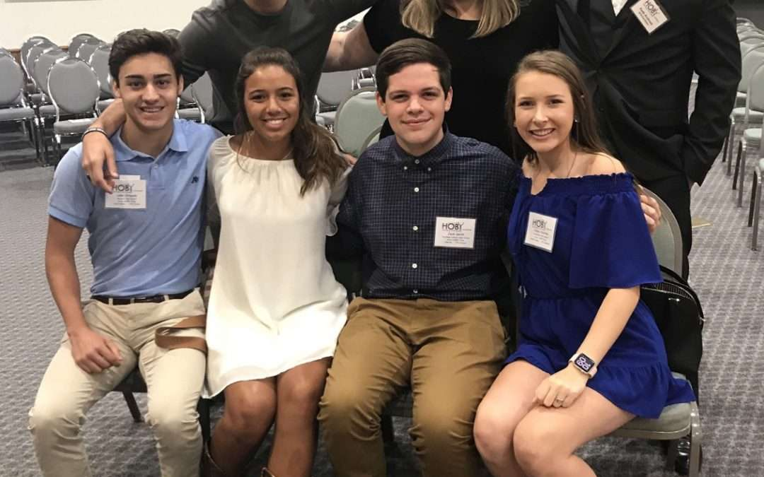 Haley Hearron Leads at HOBY Conference