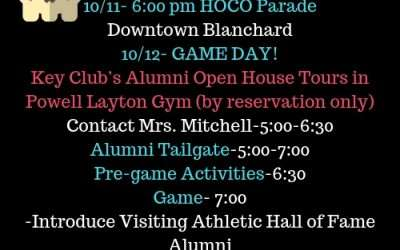 Homecoming 2018 Activities