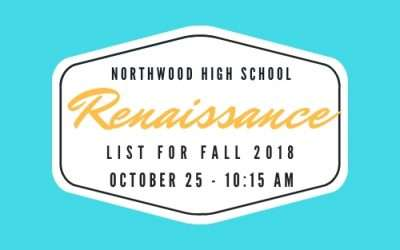 Renaissance List for Fall 2018