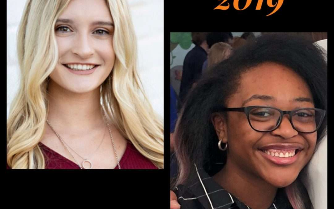 Seniors Who Stand Out ~ Class of 2019
