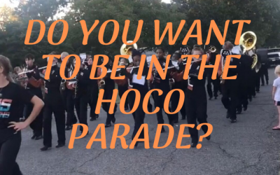Join Our Homecoming Parade Festivities!