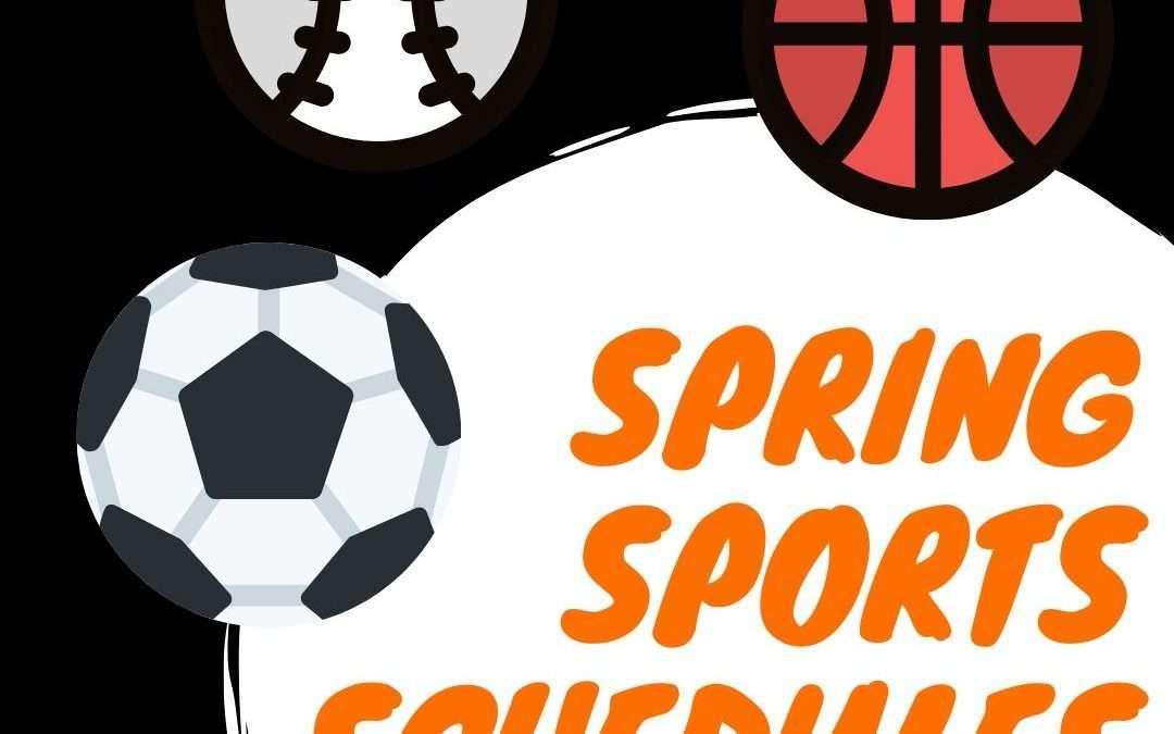 Winter/Spring Sports Schedules