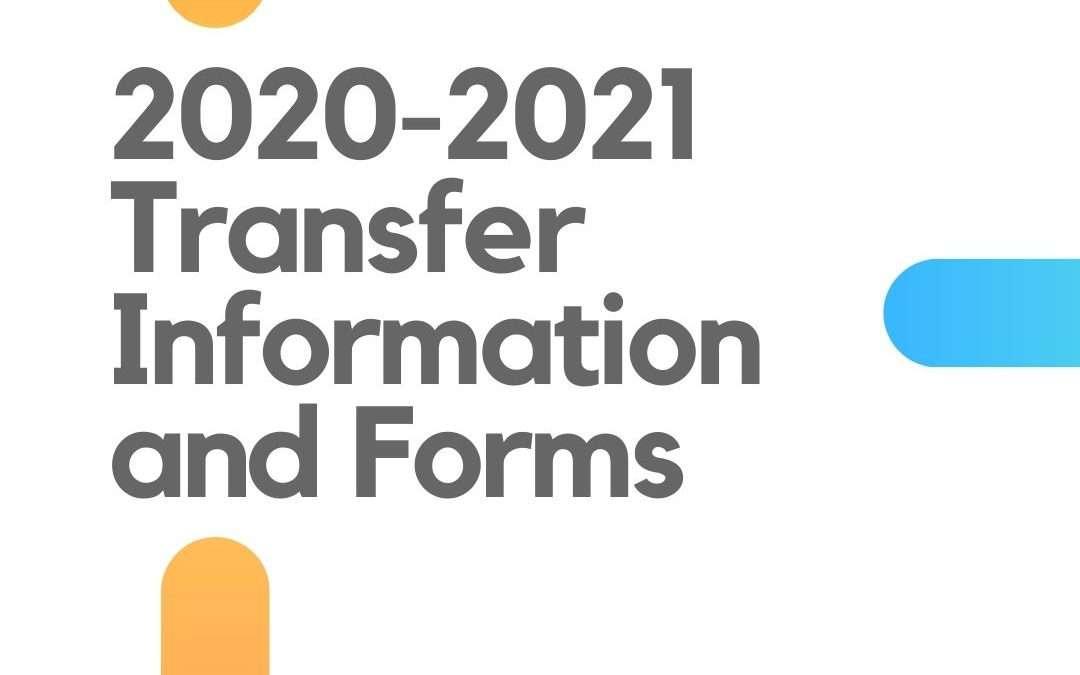 2020-2021 Transfer Information