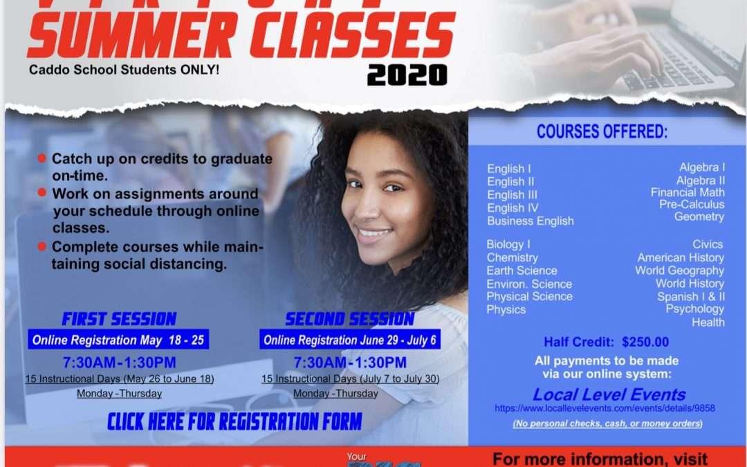 Virtual Summer School Information