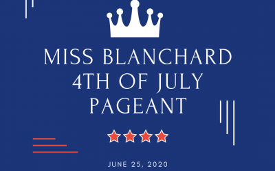 Miss Blanchard 4th of July Interview Pageant