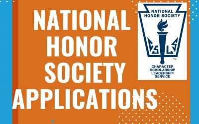 National Honor Society Applications
