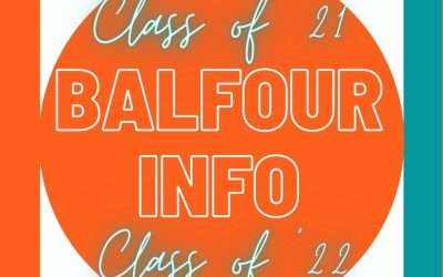 Balfour/Graduate Sales Information for Junior and Senior Parents