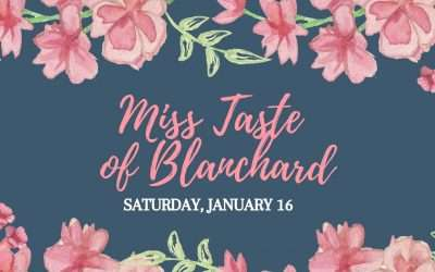 Miss Taste of Blanchard Pageant