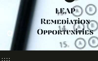 LEAP Remediation/Tutoring Opportunities