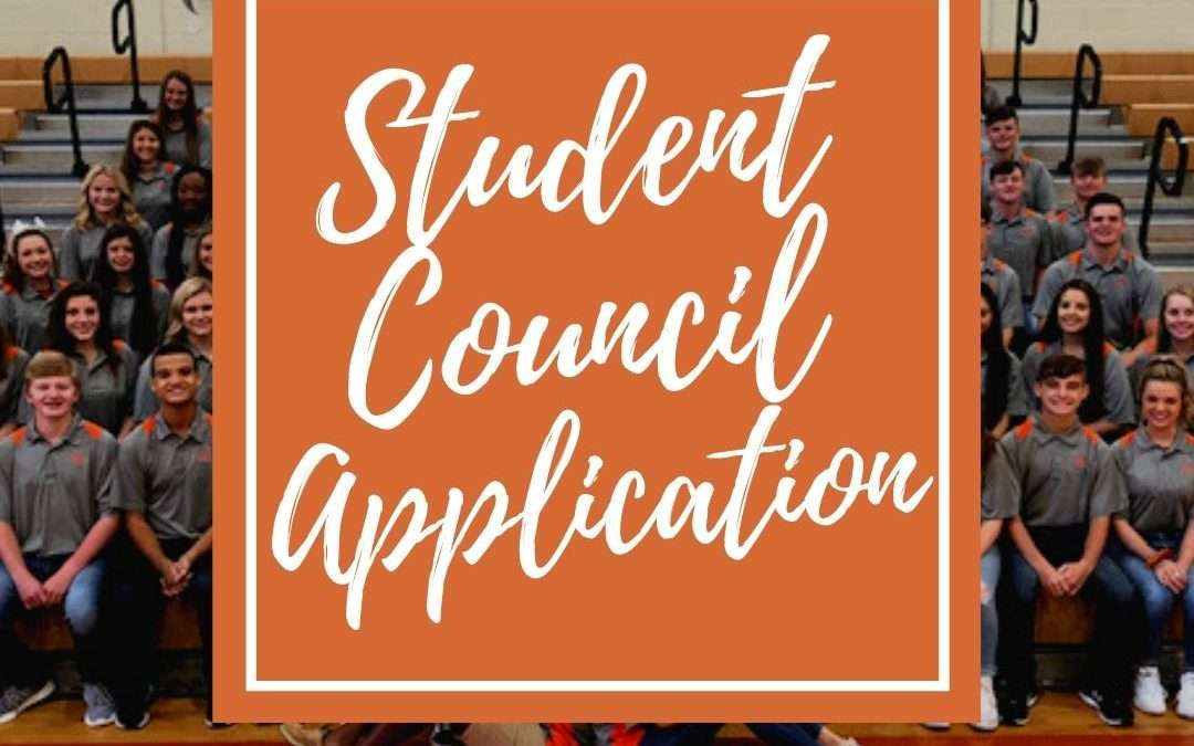 Join STUCO Today! Student Council Applications