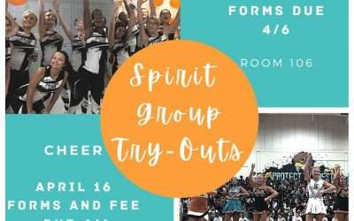 Spirit Group Try-Outs! Cheer and Falcon Line