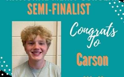 Carson Wall Named National Merit Scholar Semi-Finalist