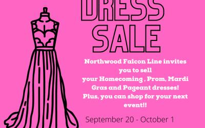 Falcon Line Annual Dress Sale